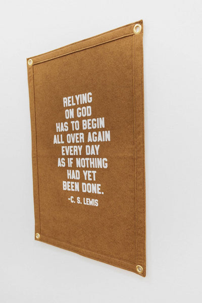 Relying on God- CS Lewis