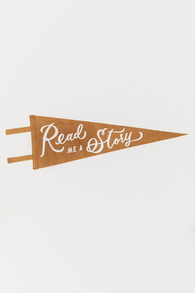 Read Me a Story Pennant