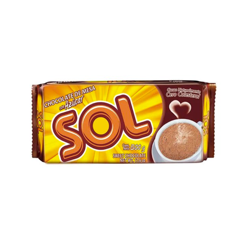 Chocolate Sol - 500 gr