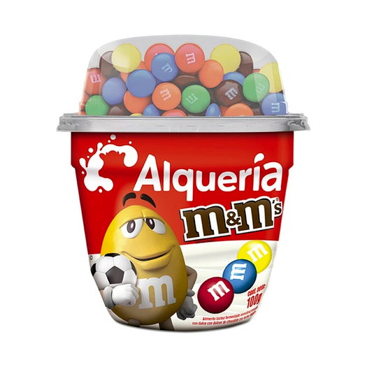 Yogurt con M&M Alquería - 100 gr