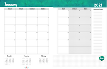 Load image into Gallery viewer, The Get Stitch Done Planner 2021: Monday Start