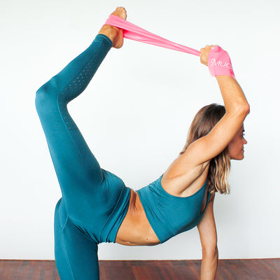 Pilates & Yoga Latex Resistance Band & Bag Set