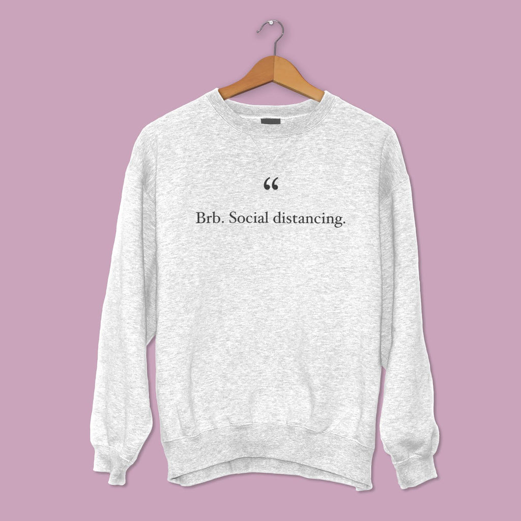 BRB SWEATSHIRT - GREY