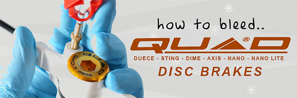 How to Bleed Quad Disc Brakes