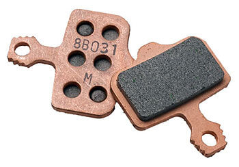 Sintered brake pad set mtb - epic bleed solutions