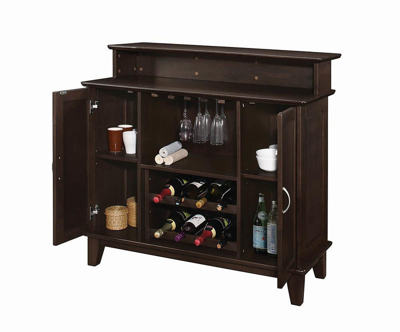 Transitional Cappuccino Bar Unit