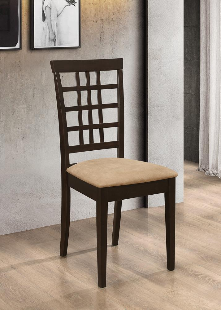 Kelso Casual Peat and Cappuccino Side Chair