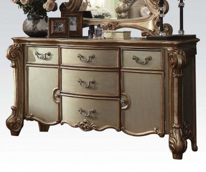 Acme Vendome Server in Gold Patina 23005 image