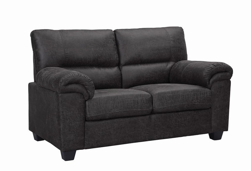 Ballard Casual Charcoal Loveseat