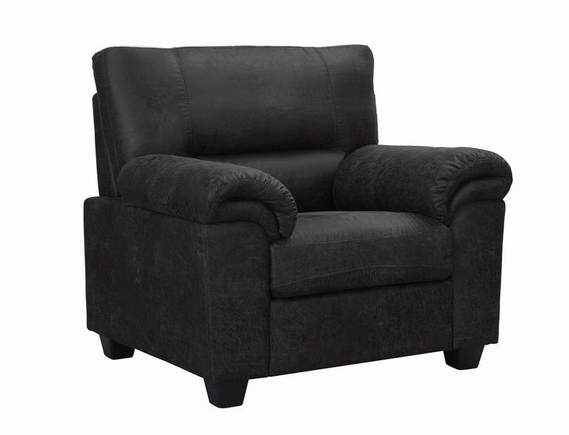 Ballard Casual Charcoal Chair