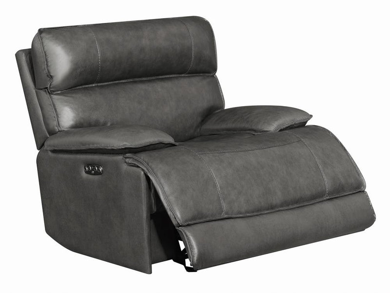 Standford Casual Charcoal Power^2 Glider Recliner