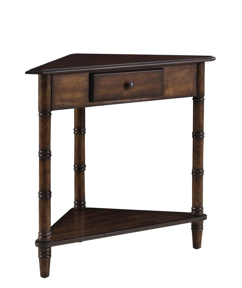 Cherry Corner Accent Table