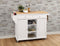 Tullarick Natural & White Kitchen Cart