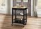 Ottawa Natural & Black Kitchen Cart