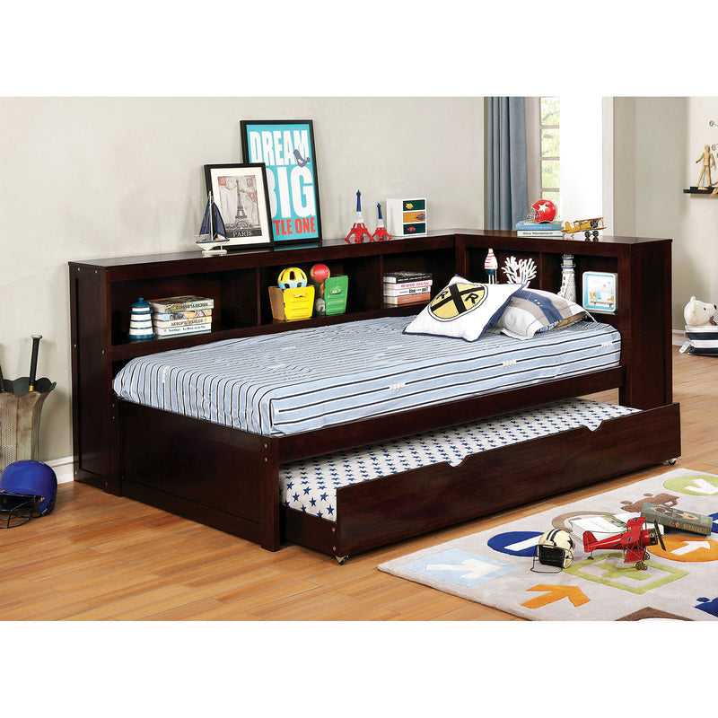 Frankie White Twin Daybed w/ Trundle