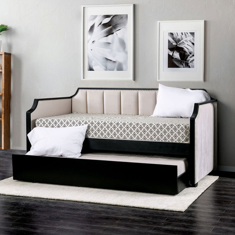 Costanza Beige/Black Daybed