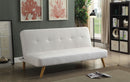 Mulliner White/Natural Futon Sofa, White