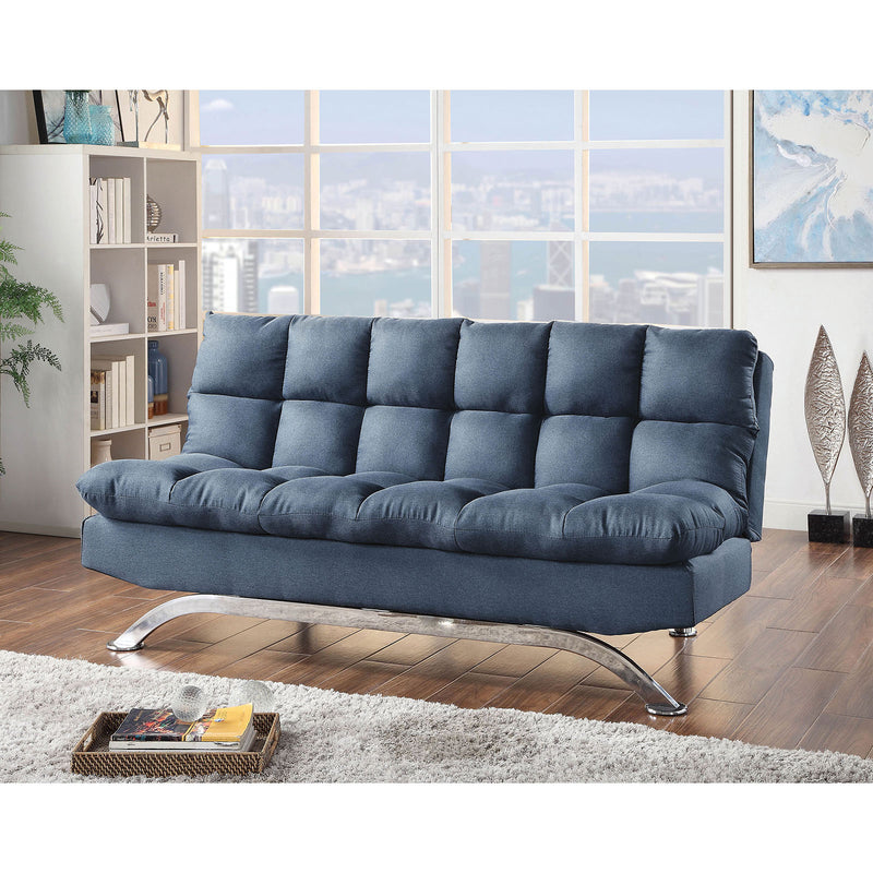 Aristo Blue Sofa Futon