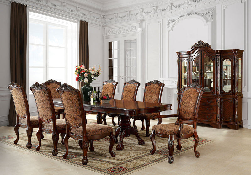 Cromwell Antique Cherry 7 Pc. Dining Table Set (2AC+4SC)