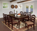 "Townsville Dark Walnut 78"" Dining Table"