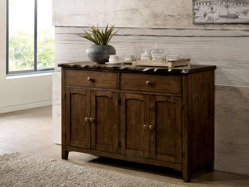 Woodworth Walnut Server