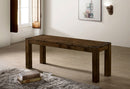 Mccall Walnut Bench