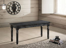Muriel Weathered Gray Bench