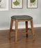 Lana Weathered Natural Tone Counter Ht. Barstool (2/CTN)