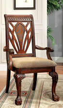 PETERSBURG I Cherry Arm Chair (2/CTN)