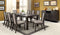 ERIS I Weathered Gray 9 Pc. Dining Table Set