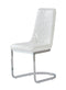 White Set Of 2 Dining Chairs D1067DC-WH image