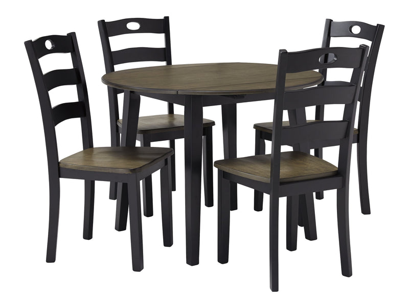 Froshburg Signature Design 5-Piece Dining Room Set image