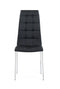 Black Set Of 4 Dining Chairs D716DC (M) image