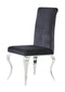 Black Set Of 2 Dining Chairs D858DC image