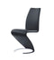 Black Set Of 2 Dining Chairs D9002DC-BL (M) image
