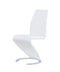White Set Of 2 Dining Chairs D9002DC-WH (M) image