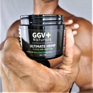 Ultimate Hemp CBD Muscle and Joint Rub 400mg - GGVNaturals