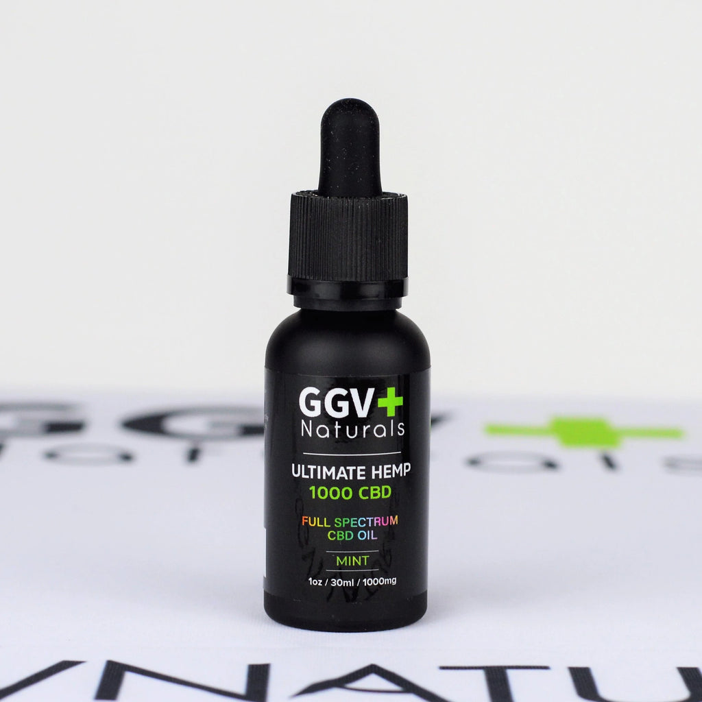 Ultimate Hemp 1000mg CBD Oil 1oz - GGVNaturals