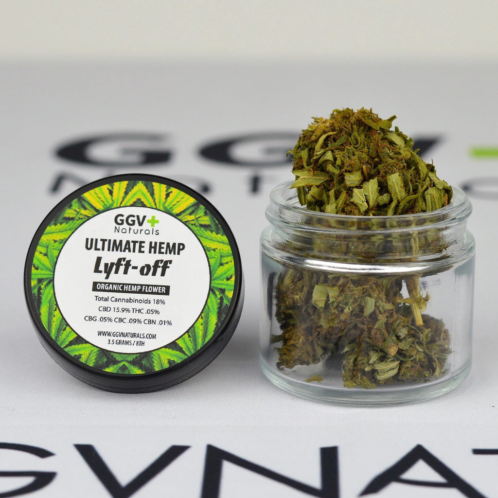 Ultimate Hemp Lyft-Off Organic Hemp Flower 3.5g-Hemp flower-GGVNaturals
