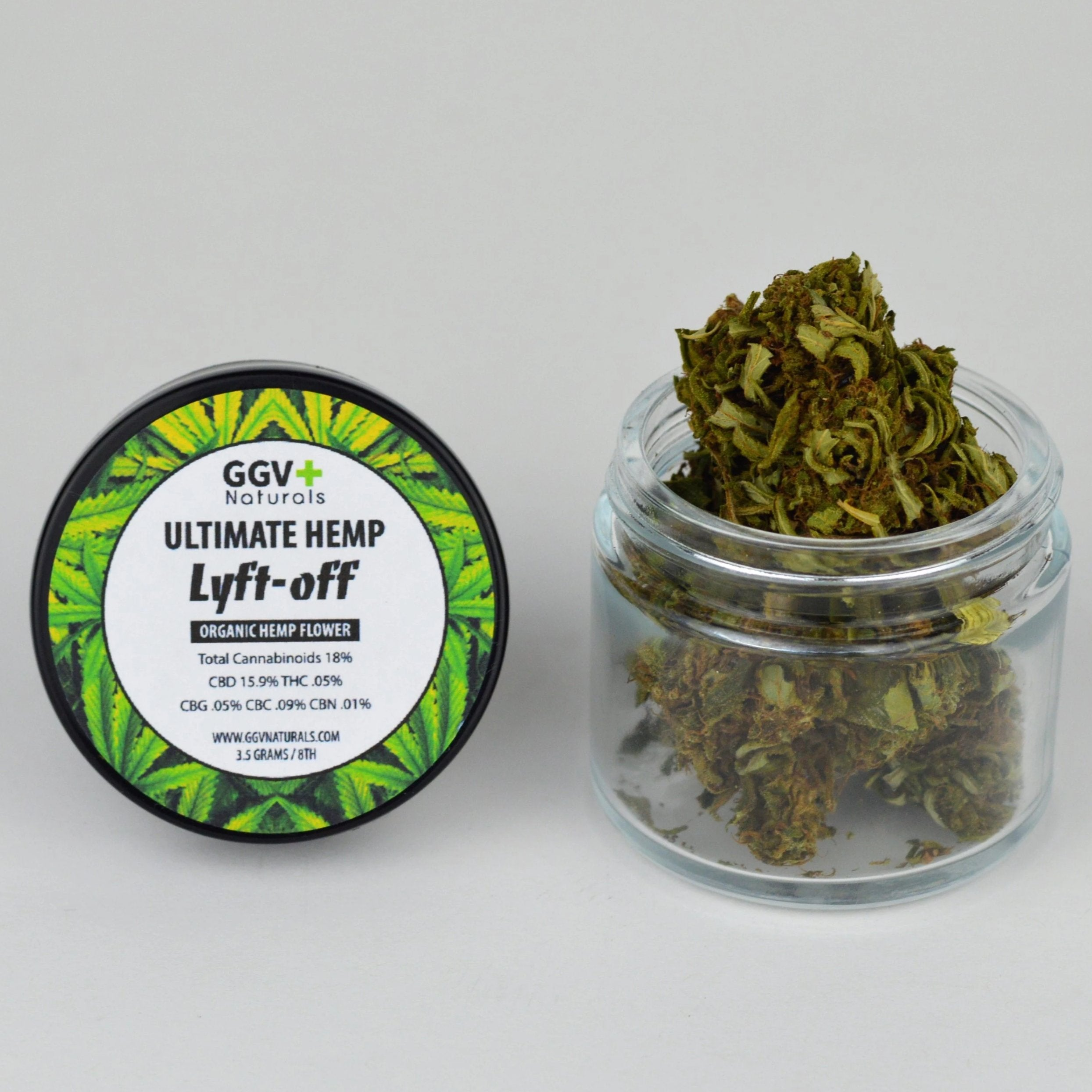 Ultimate Hemp Lyft-Off Organic Hemp Flower 3.5g - GGVNaturals