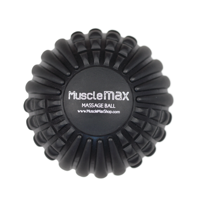 "MuscleMax 5"" Dual Density Textured Massage Ball-Muscle Recovery Tools-GGVNaturals"