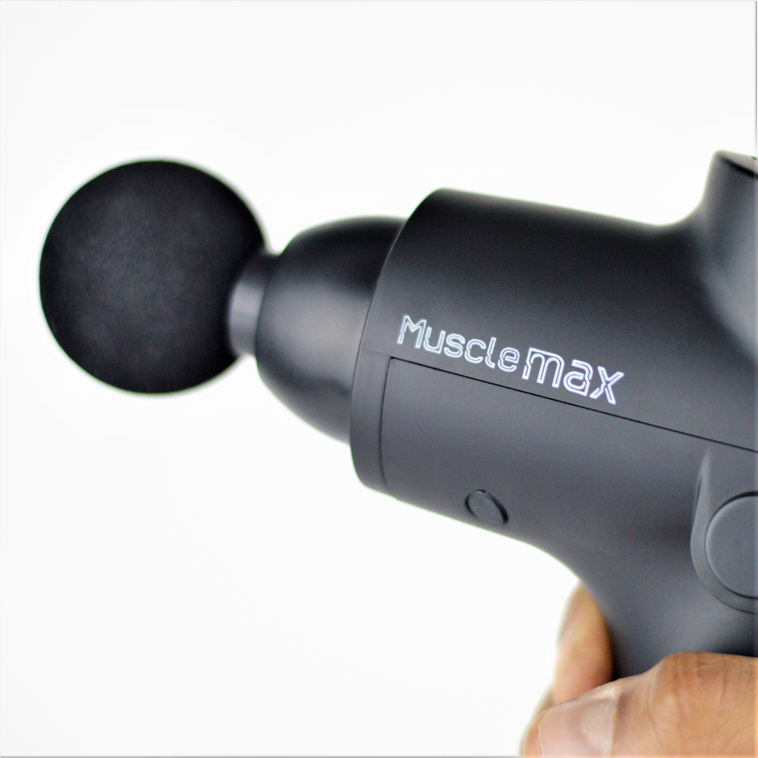 "MuscleMax 24V Percussive Massage Gun w FREE 5"" MuscleMax Massage Ball - GGVNaturals"