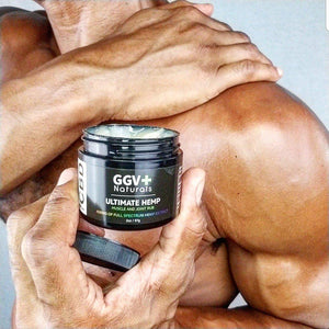 Ultimate Hemp CBD Muscle and Joint Rub 400mg-GGVNaturals