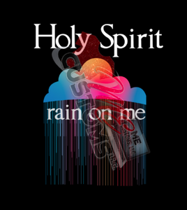 Holy Spirit (Iron On Transfer Sheet Only)