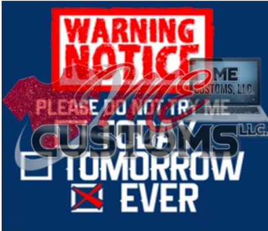 Warning Notice (SVG/PNG)