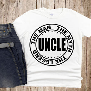 Uncle...(Iron On Transfer Sheet Only)