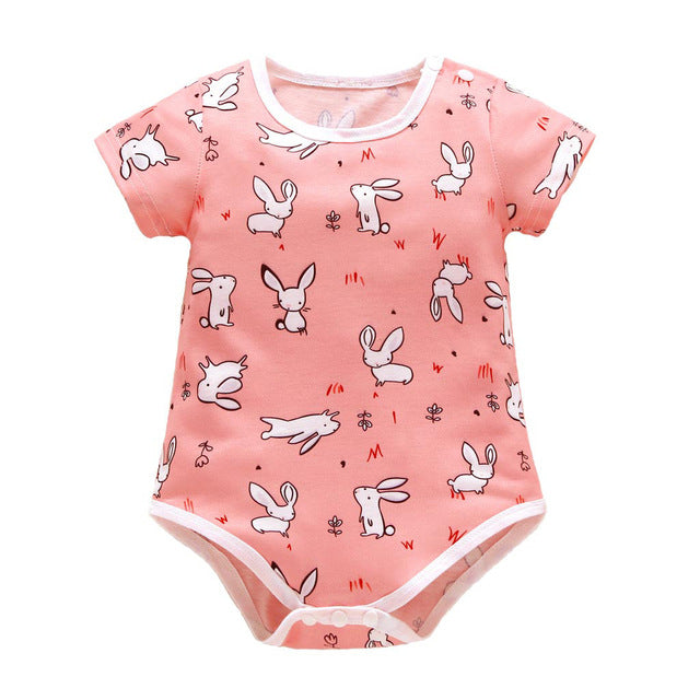 Baby Easter Day Rabbit  Romper Jumpsuit - TadaBaby
