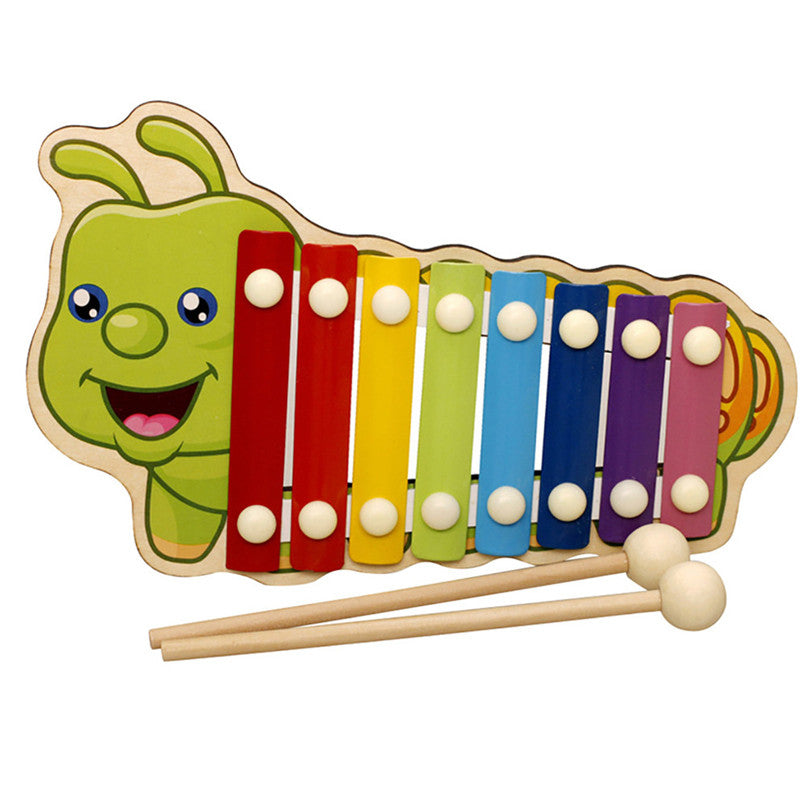 Baby  Wooden Xylophone Instrument