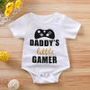 Gamer Baby Boy Girl Rompers Short Sleeve - TadaBaby