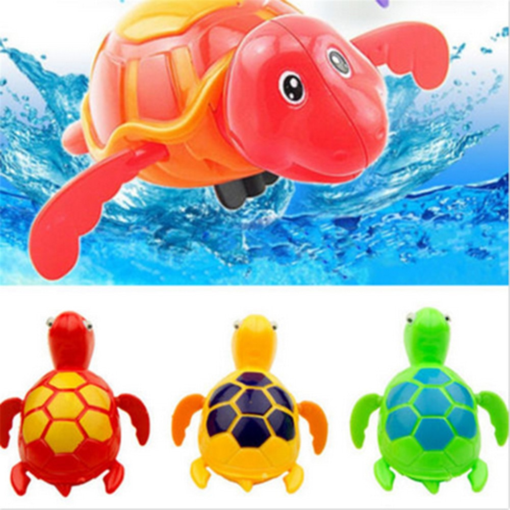 Chain Turtle Baby Bath Toy